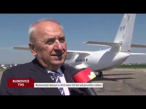 TVS: Kunovice - 50 let od vzletu L-410