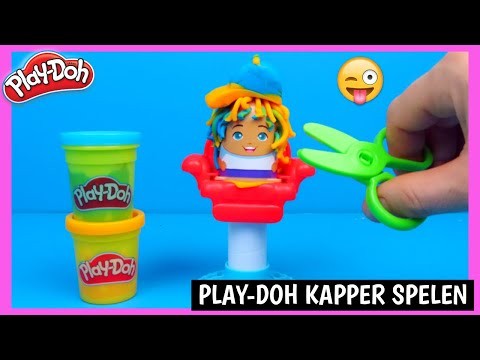 Play Doh buzz n cut kapper 💇‍♀️ speelset | Family Toys Collector