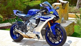 10. Amazing Yamaha R1 2016 Top Speed 0 - 299 km/h in Seconds !!!
