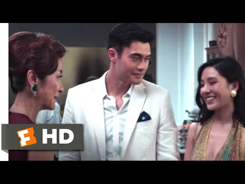 Crazy Rich Asians (2018) - Meeting His Mother Scene (3/9) | Movieclips