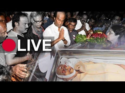 Cho Ramaswamy passes away | LIVE from RA puram