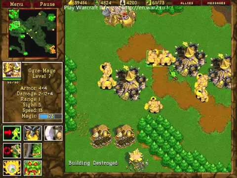 Warcraft 2 | 1v1 GoW BNE F | sAiNt[iS] vs dead.420