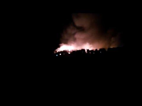 السيطرة على حريق بحي صفيحي ببلدية عين العودة أتى على حوالي مائة مسكن