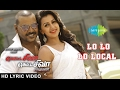 Motta Shiva Ketta Shiva Songs | Lo Lo Lo Local | HD Lyric Video | Raghava Lawrence, Nikki Galrani