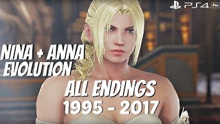 Video TEKKEN SERIES - All Nina + Anna Williams Ending Movies 1995 - 2017 (1080p 60fps) MP3, 3GP, MP4, WEBM, AVI, FLV Maret 2019