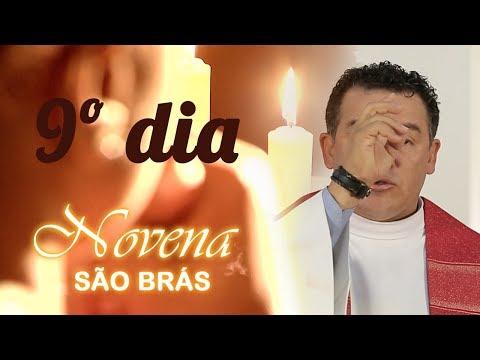 9º Dia da Novena de São Braz - TV Evangelizar - Pela Santa Igreja