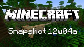 Minecraft 12w04a Snapshot Update - Ocelots, New Items&More!