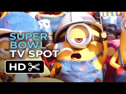 Minions Official Super Bowl TV Spot (2015) - Despicable Me Prequel HD thumbnail