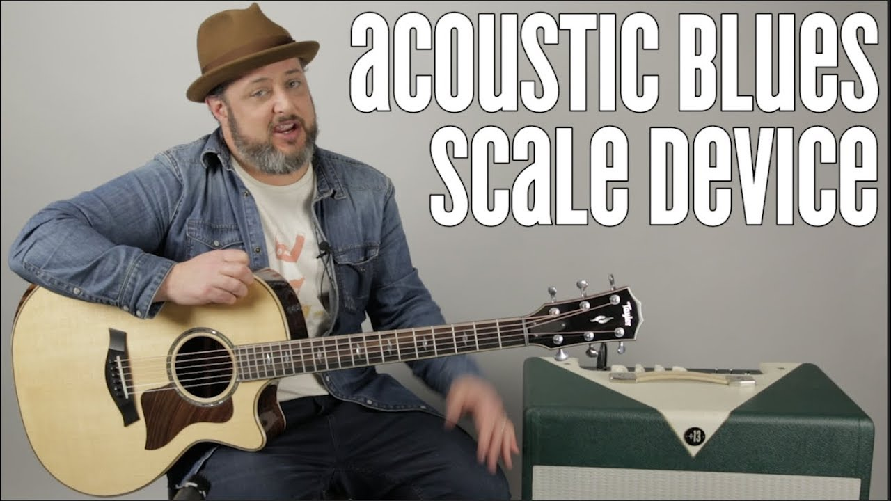 Acoustic Guitar Blues Scales for Blues, Rock and Country