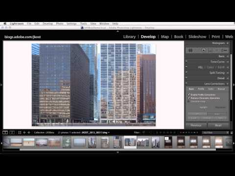 upright - Discover how to automatically fix common problems such as tilted horizons as well as converging verticals in buildings using Lightroom's new Upright controls...