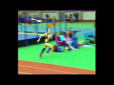 Оксана Окунева 1.91 ( Чемпионат Украины в помещении 2016 )