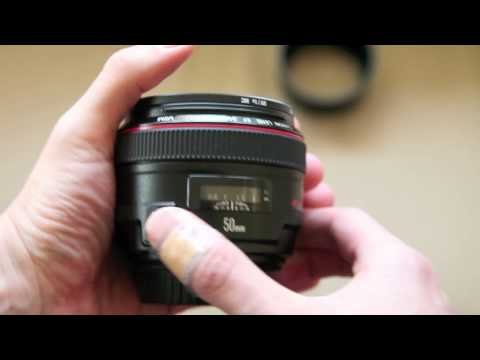 Canon EF 50mm 1.2L lens - Just my review and experiences with the Canon 50mm 1.2L.