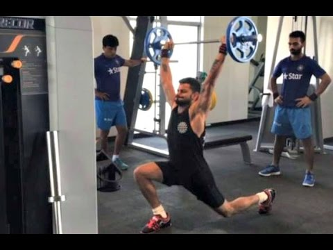 Virat Kohli Fitness Workout Videos