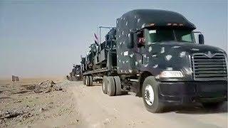 Die Armee und Milizen sind auf den Ort bei Mossul vorgerückt.