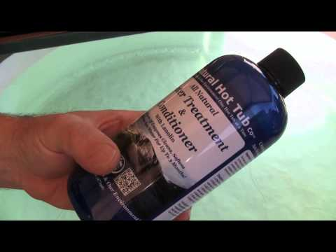 The all Natural Hot Tub Water Treatment
