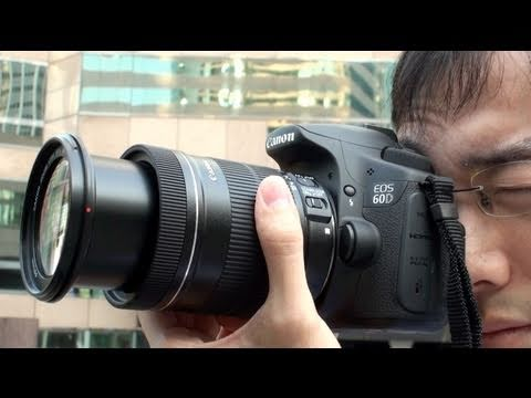 Canon 60D Hands-on Review