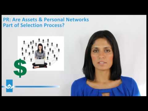 Express Entry Are Assets and Personal Networks Part of Selection Process Video