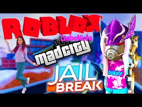 ROBLOX Jailbreak  & Mad City ( March 10th ) Live Stream HD 2nd part