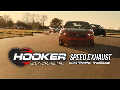 Hooker BlackHeart - Speed Exhaust