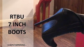 Video THESE BOOTS ARE MADE FOR WALK?........7 inch high boots MP3, 3GP, MP4, WEBM, AVI, FLV Juni 2018