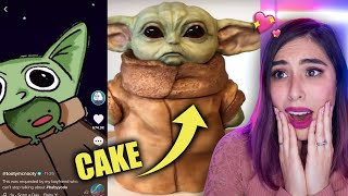 Reacting to the FUNNIEST Baby Yoda Memes by iHasCupquake