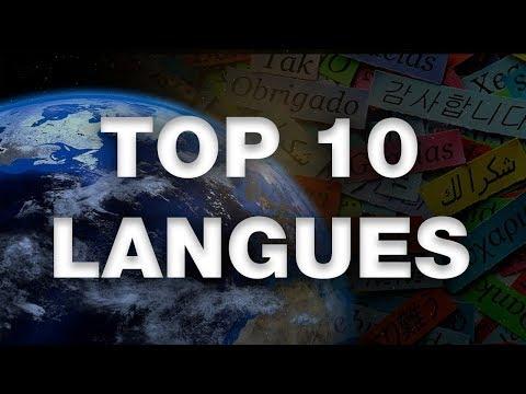 TOP 10 DES LANGUES LES PLUS PUISSANTES