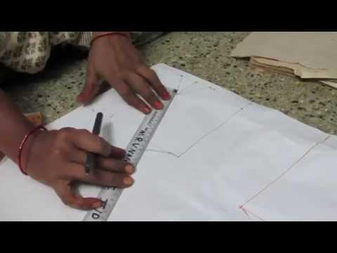 How To Cut Blouse In Cross Cutting In Telugu 57