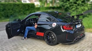 This is probably the most insane BMW M2 F87 you've probably ever heard! This BMW M2 F87 is equipped with a very loud ...