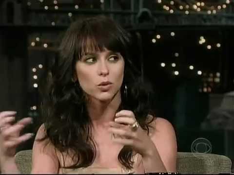 Late Show with David Letterman - Jennifer Love Hewitt/Danica Patrick