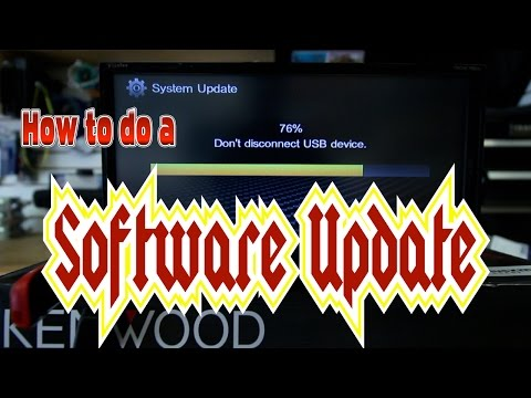 How to do a Software up date on your Kenwood multimedia radio