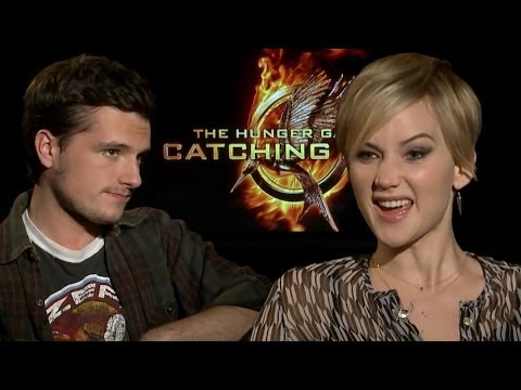 mockingjay - Exclusive Catching Fire interview with Josh Hutcherson & Jennifer Lawrence. Subscribe to ClevverTV: http://ow.ly/ktrcX Dana Ward sat down with Jennifer Lawre...