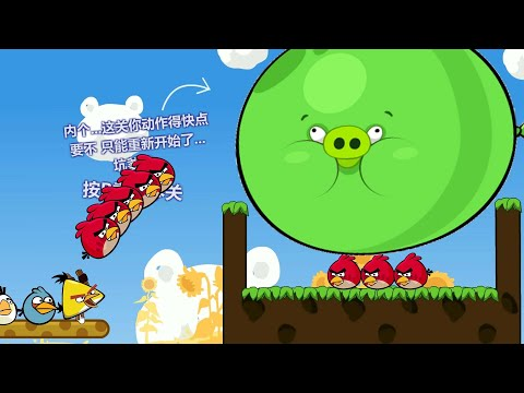Angry Birds Cannon 3  - SHOOT UNLIMITED BIRDS TO FORCE OUT GIANT PIGGIES OUT AND RESCUE GIRLFRIEND!