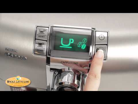 Saeco Syntia Cappuccino Espresso Machine Review