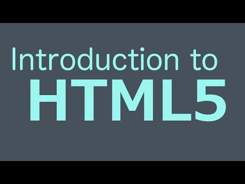 Introduction To HTML5 – Basics Tutorial 2013