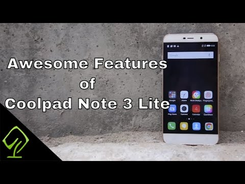 Awesome Features of Coolpad Note 3 Lite