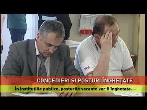 Proiectul de ordonanță privind concedierile și înghețarea posturilor din instituțiile publice, în dezbatere