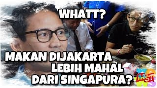 Video Whattt? Sandiaga: Sepiring Makan Siang Di Jakarta Lebih Mahal Dari Singapura! Nggak Kenal Warteg? MP3, 3GP, MP4, WEBM, AVI, FLV Oktober 2018
