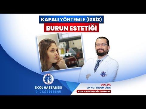 Kapalı Yöntemle (İzsiz) Burun Estetiği - Doç. Dr. Aykut Erdem Dinç - İzmir Ekol Hastanesi