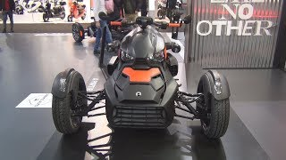 7. BRP Can-Am Ryker 600 (2019) Exterior and Interior