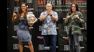 Bellator 213 Press Conference Staredowns - MMA Fighting by MMA Fighting