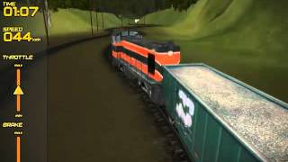 Freight Train Simulator videosu