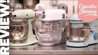 STAND MIXER REVIEW! Kitchenaid Artisan, Kenwood K Mix and Aucma Mixers | Cupcake Jemma by Cupcake Jemma