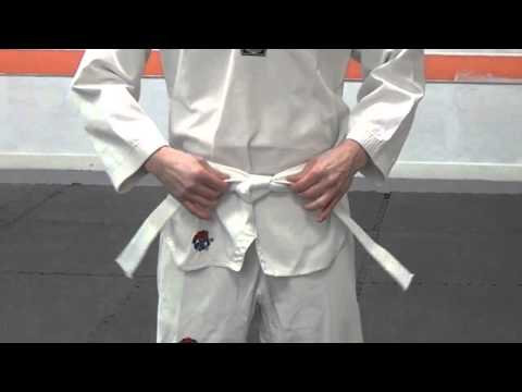 How To Tie Your Taekwondo Belt | Integrity Martial Arts