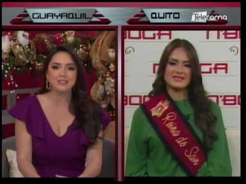 Reina de San Francisco de Quito organizará capacitaciones sobre reciclaje electrónico