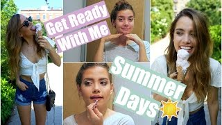 Get Ready With Me: A Summer Day | Summer Beauty Essentials! - YouTube