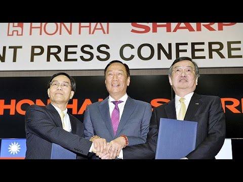 Foxconn-Sharp: Υπεγράφη η εξαγορά των 3,5 δισ. δολαρίων