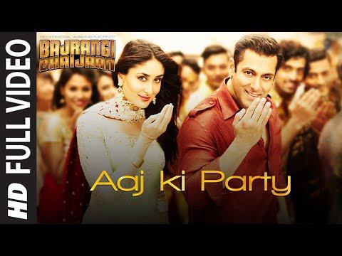 Download 'Aaj Ki Party' FULL VIDEO Song - Mika Singh | Salman Khan, Kareena Kapoor | Bajrangi Bhaijaan hd file 3gp hd mp4 download videos