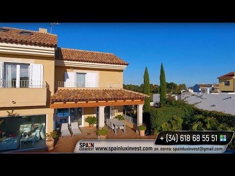 Очень красивая новая классическая вилла в пригороде Бенидорма - Альфас дель Пи