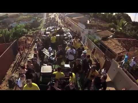 Trio Foguinho e Forro é o Cheffe elétrico em Heliopolis - BA (DJI Phantom + GoPro)