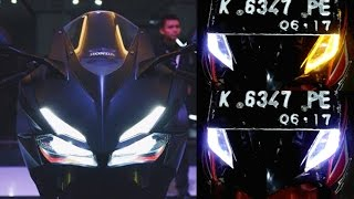 Video Cara Membuat Lampu Alis Berubah Warna Ala CBR 250RR.(make eyebrow lights can change color) MP3, 3GP, MP4, WEBM, AVI, FLV September 2018